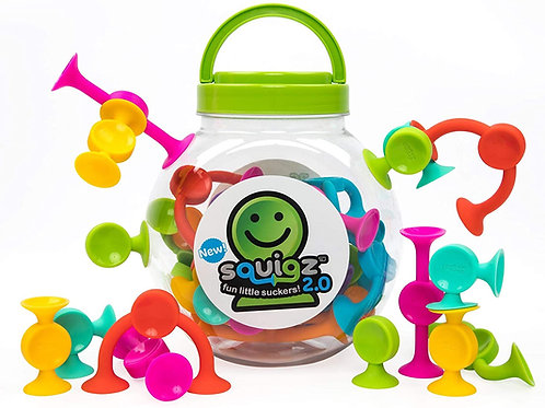 Fat Brain Toys  Squigz 2.0 (36St.)