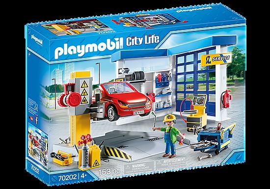 Playmobil 70202 City Life Vehicle World Garage and Workshop