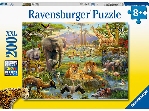 Ravensburger Animals of the Savanna XXL 200pc Jigsaw Puzzle