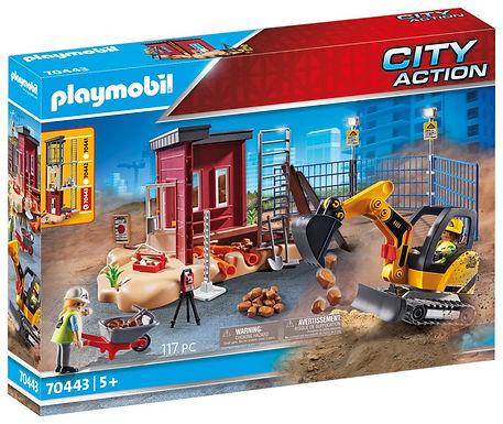Playmobil 70443 City Action Construcion Small Excavator
