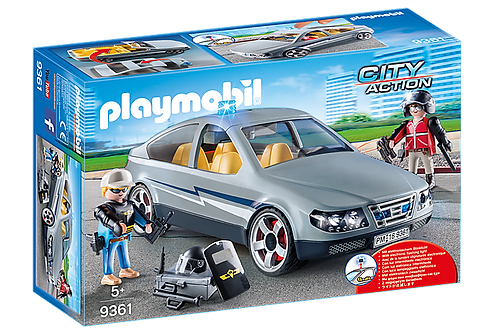Playmobil 9361 City Action SWAT Undercover Car