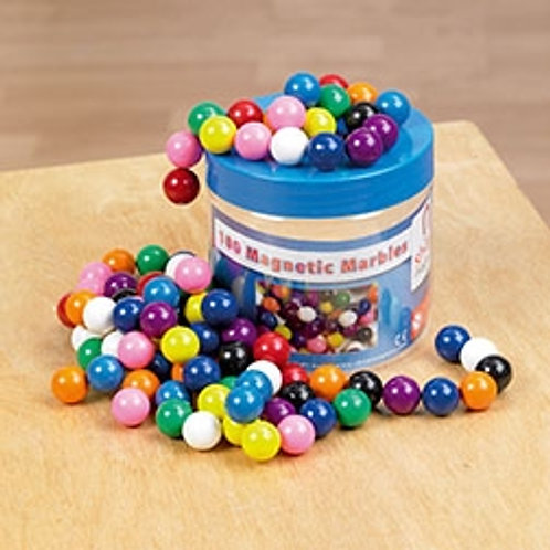 Shaw Magnets  Magnetic Marbles Tub Pk100