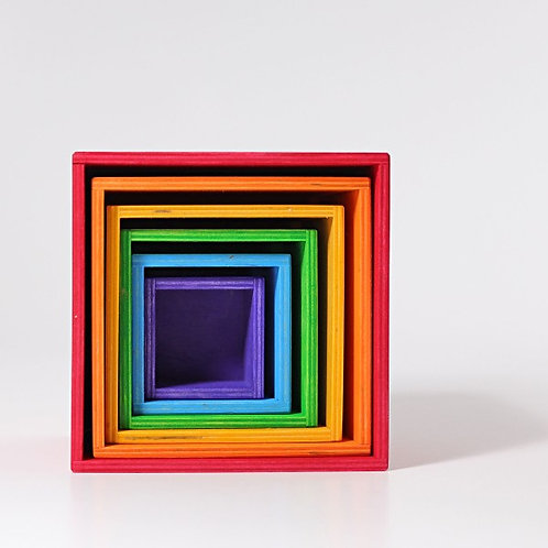 Grimms Large Set of Boxes Rainbow