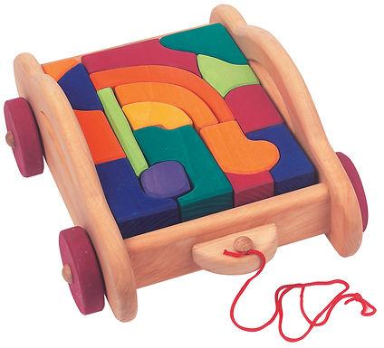 Gluckskafer 17 Piece Carriage Blocks