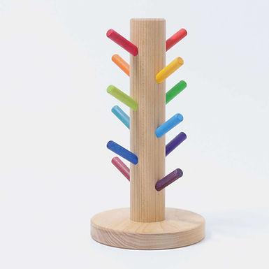 Grimms Sorting Helper Building Rings Rainbow