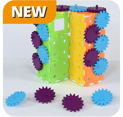 My First Polydron Gears Set