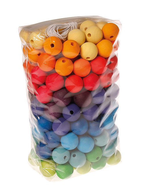 Grimms 180 Wooden Beads