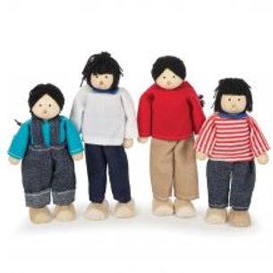 Tidlo Multicultural Dolls - Asian Family