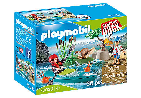 Playmobil 70035 Kayak Adventure Starter Pack
