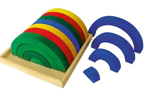 Bauspiel Coloured Arches 32 pcs