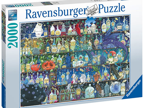 Ravensburger Poisons and Potions, 2000pc Jigsaw Puzzle