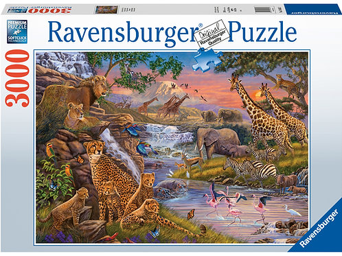 Ravensburger Animal Kingdom, 3000pc Jigsaw Puzzle