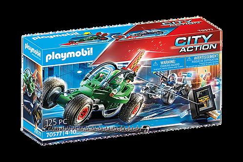 Playmobil 70577 City Action Police Go-Kart Escape