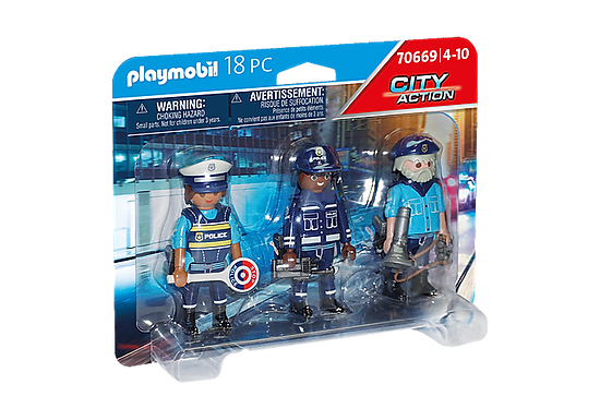 Playmobil 70669 City Action Police Figure Set