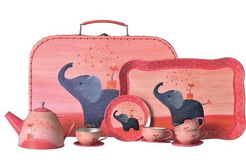 Egmont Toys Tin Tea Set Elephant