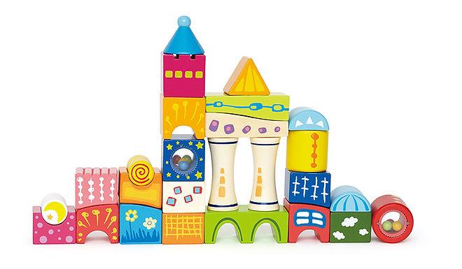 Hape Fantasia Building Blocks Castle