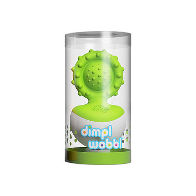 Fat Brain Toys  Dimpl Wobbl Green
