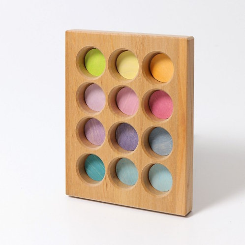Grimms Sortingboard Pastel