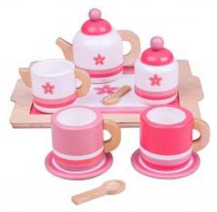 BigJigs Pink Tea Tray