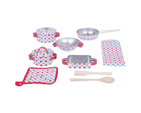 BigJigs Spotted Kitchenware Set