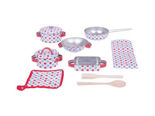 BigJigs Spotted Kitchenware Set