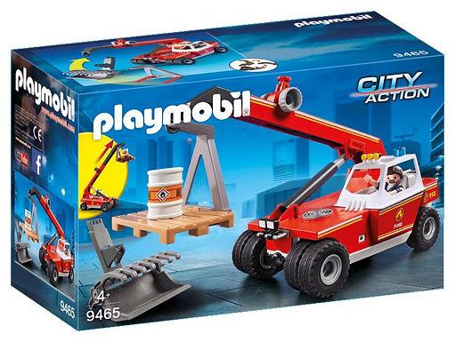 Playmobil 9465 City Action Fire Crane