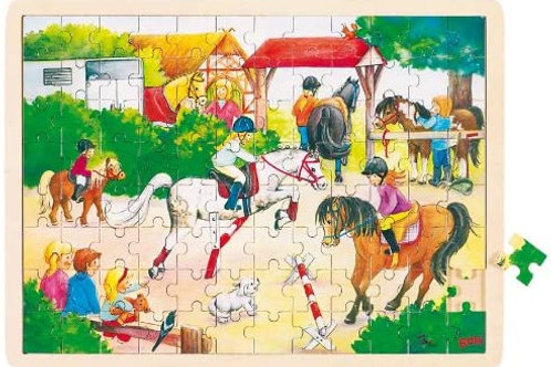 Goki Puzzle, Horse Show