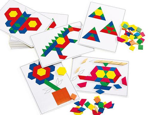 Edx Education Basic Pattern Block Cards