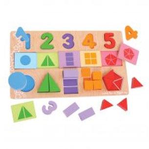 BigJigs Fractions Puzzle