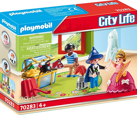 Playmobil 70283 City Life Pre-School Children with Costumes