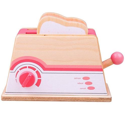 BigJigs Pink Toaster