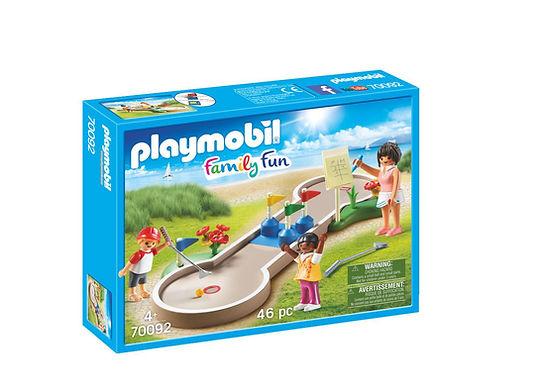 Playmobil 70092 Family Fun Campsite Mini-golf