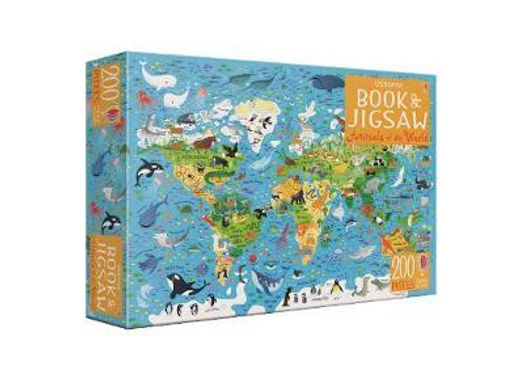 Book & Jigsaw Animals of World