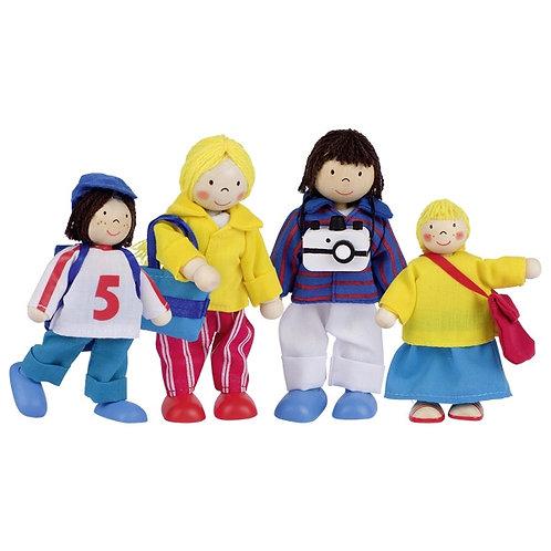 Goki Flexible Puppets Holiday Family