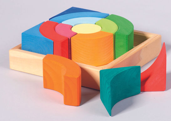 Gluckskafer Quadrat Circles Construction Kit