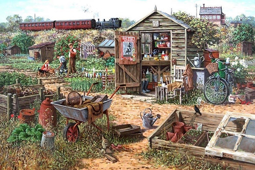 House of Puzzles - Grow your own 1000 piece jigsaw