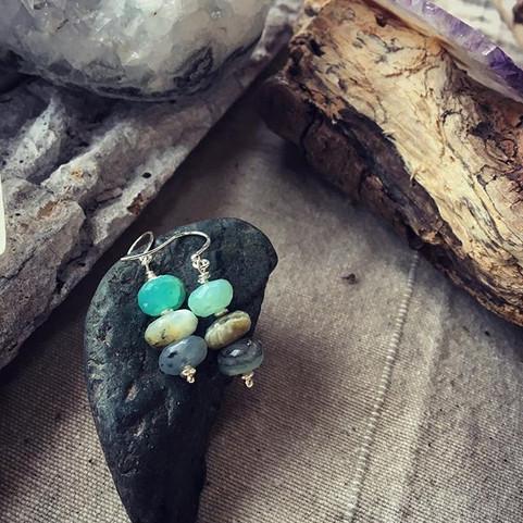 Petites Opales facettées pour Mary ⭐️ #m