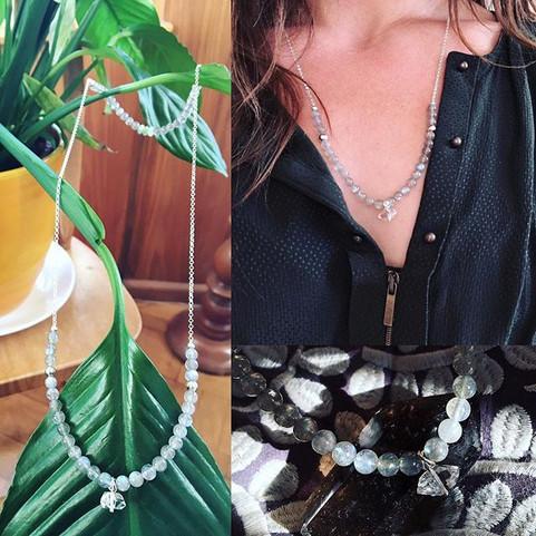Un collier pour Mathilde #melumine #bijo