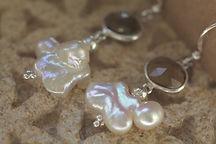 Citrine et perle