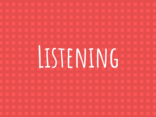 Listening Lesson