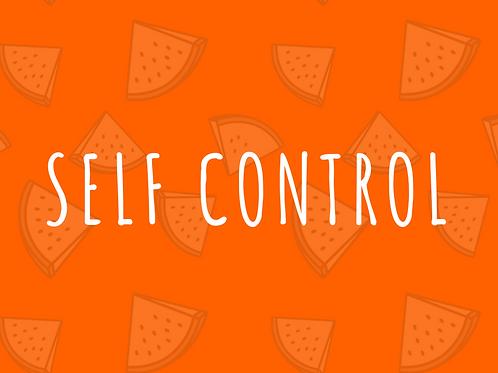 Self Control Conversation Starter