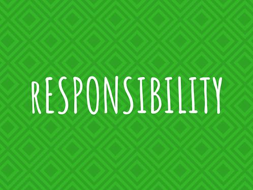 Responsibility Conversation Starter