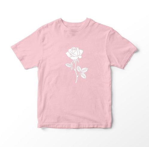 CAMISETA FEMININA BABY LOOK CLASSIC ROSE