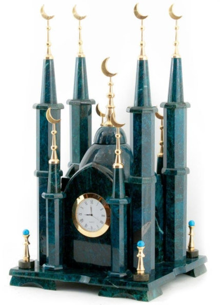 "Часы каминные ""Мечеть"""