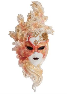 """Венецианская маска """"ПАВЛИН"""""""