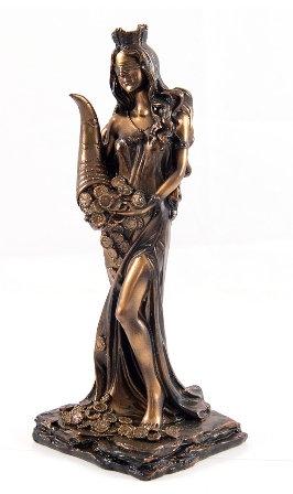 """Статуэтка """"Римская богиня счастья и удачи - Фортуна"""""""