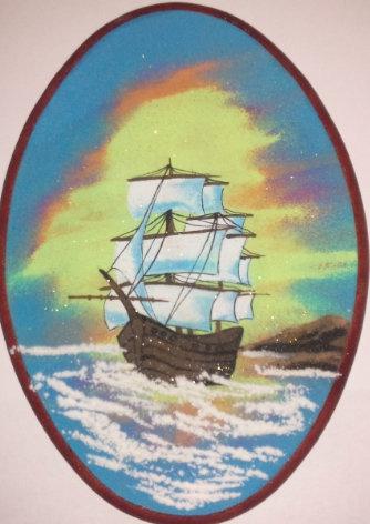 Панно. Кораблик 240*180 мм