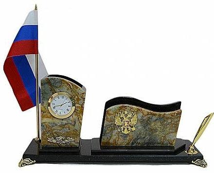 """Письменный прибор """"Россия"""" мини"""