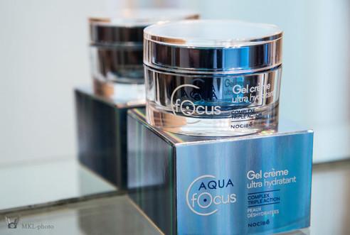 Avis sur le Aquafocus Gel crème Hydratant de Nocibé