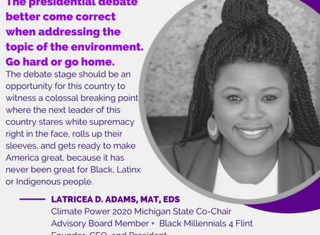 Guest Post: Why The Presidential Debates Need to Cover Environmental Injustices and Systemic Racism